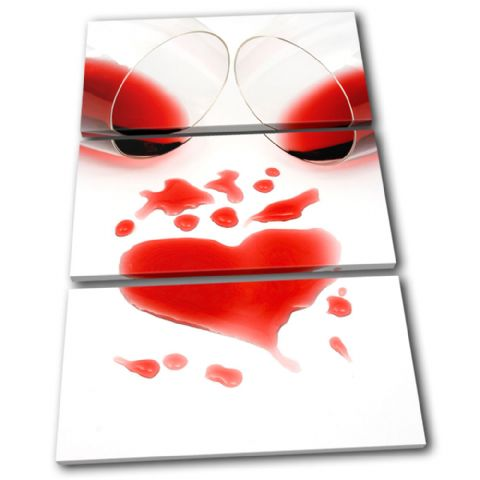 Wine Glass Heart Love - 13-1643(00B)-TR32-PO